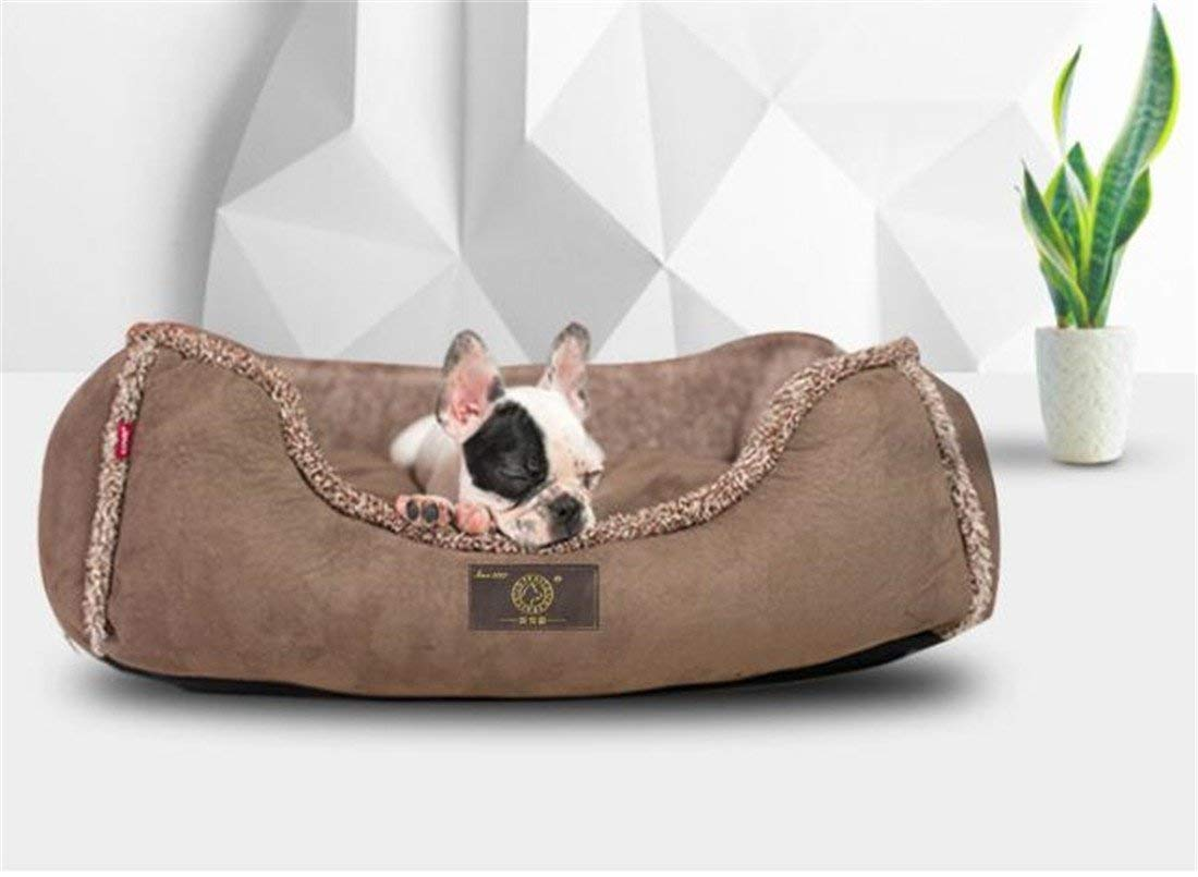 S KIUJHY Dog Bed Pet Supplies, Removable and Washable Four Seasons Universal Soft and Comfortable Ideal Comfortable Bed