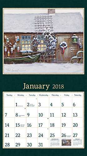 Lang 2018 Wall Calendar Quot American Dream Quot Artwork By