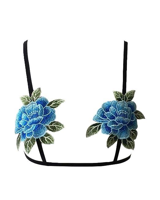 Bordados Florales Ropa Interior De Mujer Intimissimi Sujetador Sin Aros: Amazon.es: Ropa y accesorios