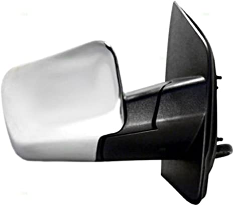 ManFold Fits 04-14 Armada Right Pass Chrome Power Mirror W//Ht,Mem,Lamp,Sing Arm