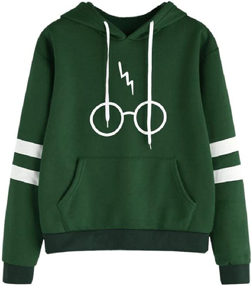 Harry Potter Hoodie Jumper Sweatshirt Women/'s Ladies Burgundy Top Hoody