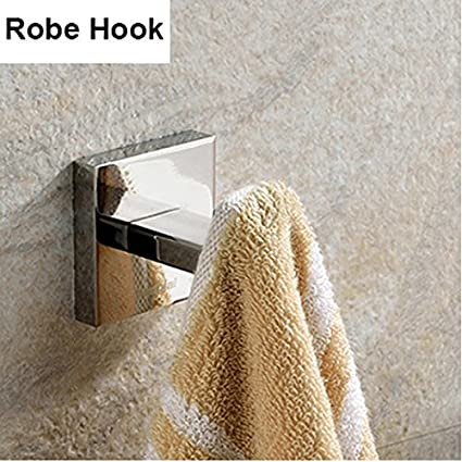 Amazon.com: SUS 304 - Juego de accesorios de baño de acero ...