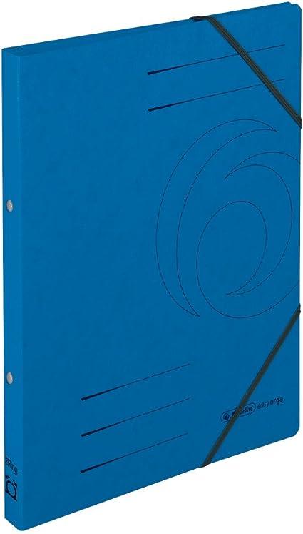 Farbe Ringbuch gelb Herlitz Ringhefter DIN A4 aus Colorspan-Karton