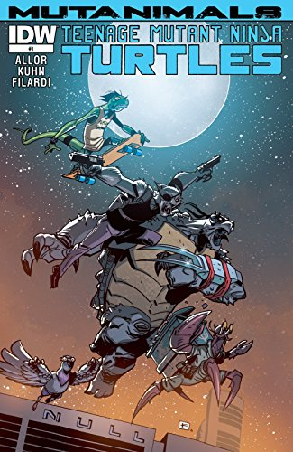 Amazon.com: Teenage Mutant Ninja Turtles: Mutanimals #1 (of ...