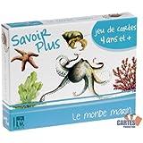 "Jeu de 42 cartes : 7 familles ""Le Monde Marin"""