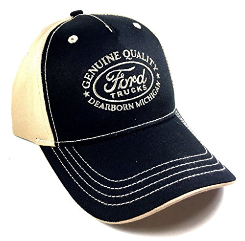 Ford Trucks Black & Khaki Adjustable (Ford Trucks Hat)