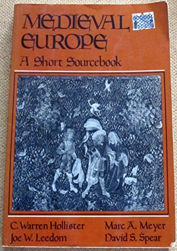 Medieval Europe. A Short Sourcebook