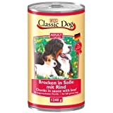 Classic Dog Lamb 1240g box, feed, pet food, canned food for dogs