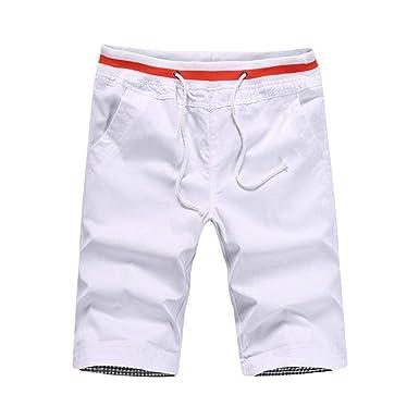 Pantalones De Chándal Cortos Pantalones De para Verano Hombres ...