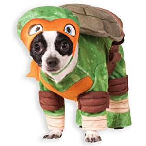 Rubie's Teenage Mutant Ninja Turtles Michelangelo Pet Costume, X-Large