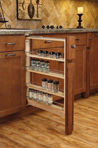 Base Cabinet Fillers with Soft Close Drawer Slides 3