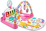 Fisher-Price Deluxe Kick & Play Piano Gym, Pink