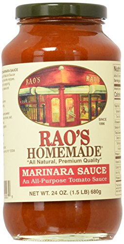 Rao's Homemade Marinara Sauce, 24-Ounce (Pack of 4) (Best Store Bought Marinara Sauce)