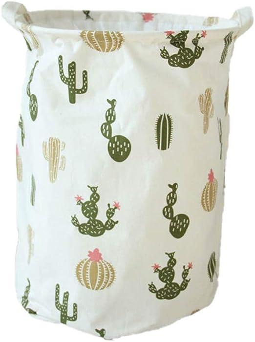 Chytaii. Cactus Cesta Ropa Sucia Cesta De Almacenamiento Cestas De ...