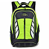 Vbiger New Style Backpack for Middle or Primary School Boys and Girls (Green 2)