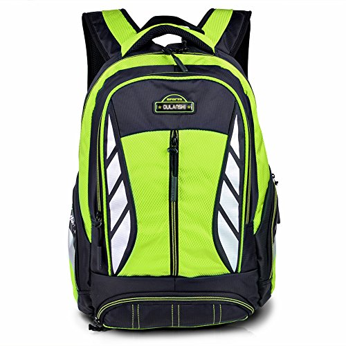 School Green - Vbiger New Style Backpack for Middle or Primary School Boys and Girls (Green 2)