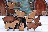 Wooden Set of animal farm, Wooden animal, Wooden toys, Waldorf toys, Waldorf animal toy, Eco-freindly toy, Toys wooden, Wooden puzzle, Christmas toys
