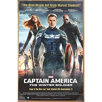 "Collector/'s Poster Print Photo MARVEL CHRIS EVANS Captain America 12"" x 18"""