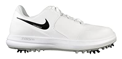 size 40 8d2b8 e5b2b Nike Mens Air Zoom Accurate Golf Shoes, Multicolour (WhiteBlackMetallic  Silver