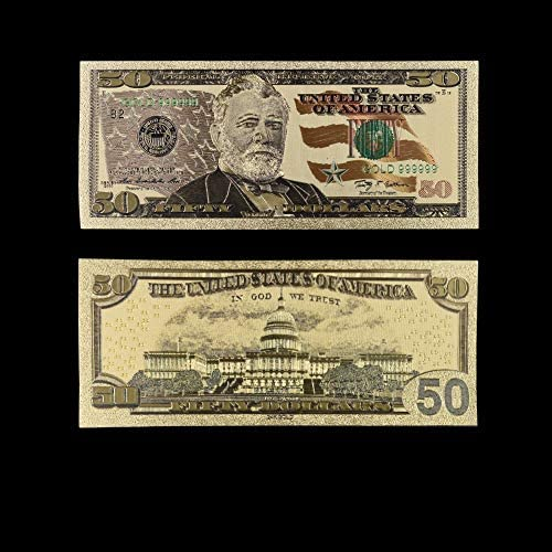 HENGTONGTONGXUN 紙幣米ゴールド紙幣USA金箔1ミリオンダラー・ビル注ゴールド紙幣コレクションホームデコレーション 使いやすい (色 : Style 6)