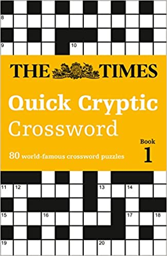 The Times Quick Cryptic Crossword Book 1 80 Challenging Quick