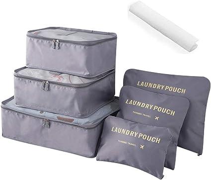 Amazon.com: Organizador de equipaje de viaje, bolsa de ...