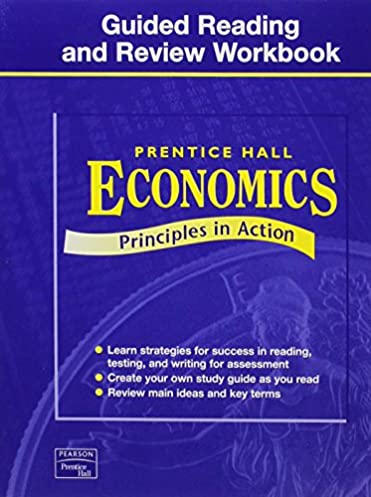 economics 2nd edition guided reading and review workbook student rh amazon com Prentice Hall Economics Chapter 6 Prentice Hall Economics Tests
