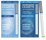 Stop Smoking Aid | Natural Smoking Cessation Product | Habit Replacement and Quit Smoking Solution to Help You Successfully Quit Smoking. Satisfy & Reduce Cravings. (Oxygen/Cool Menthol, 2 Pack)