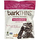 BarkThins Snacking Chocolate-Dark Chocolate with Almond and Sea Salt, 482 Gram