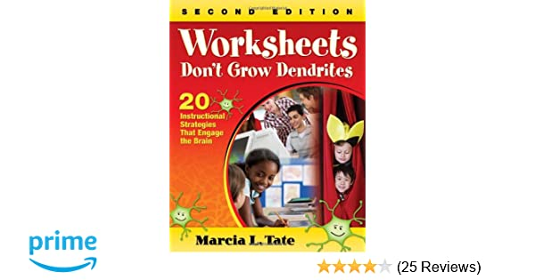 Worksheets Don′t Grow Dendrites: 20 Instructional Strategies ...