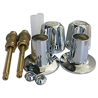 LASCO 01-9171 Two Valve Verve Tub and Shower Trim Set for Price Pfister Brand with Stems