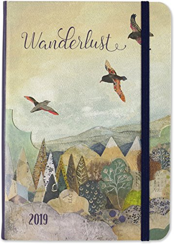 Press Inc Specialty - 2019 Wanderlust Weekly Planner (16-Month Engagement Calendar)