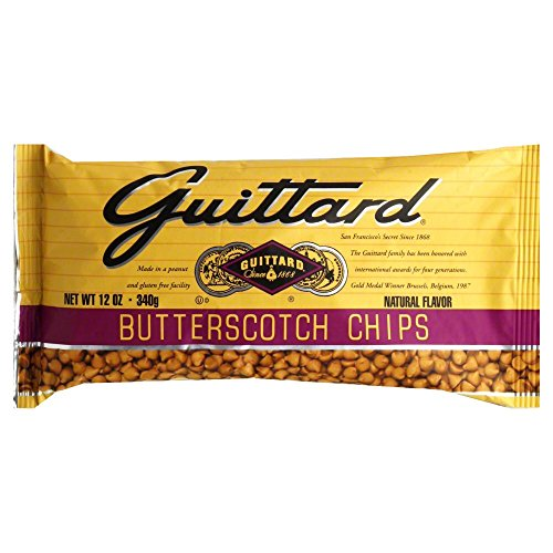 Guittard Butterscotch Chips, 12 Ounce/ 340 g (Pack of 3)