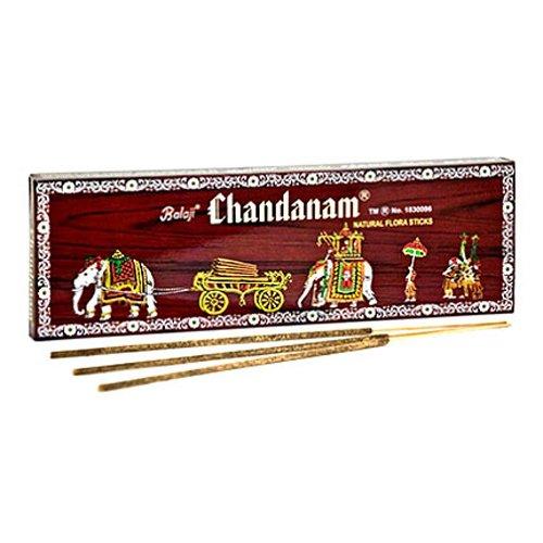 Balaji Chandanam Sandal Incense - 2 Packs, 50 Grams per Pack