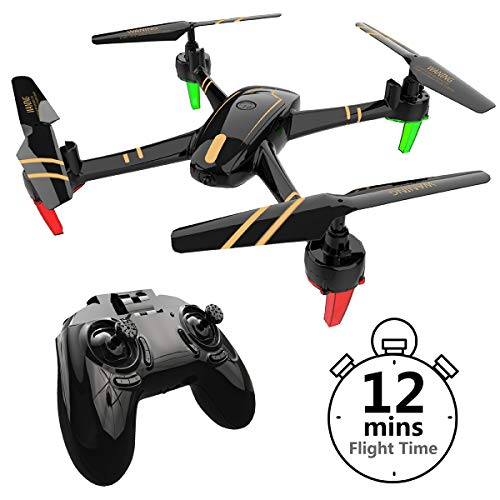 Remoking R820 RC Drone Toys Racing Quadcopter Headless Mode 2.4GHz 360°flip 4 Channels Altitude Hold Indoor and Outdoor Sport Game Good for Children and Adult as Gifts 12mins Long Flight Time – Black Review