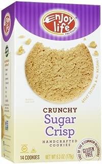 product image for Enjoy Life Crunchy Sugar Crisp Cookies, 6.3 oz by Enjoy Life Foods