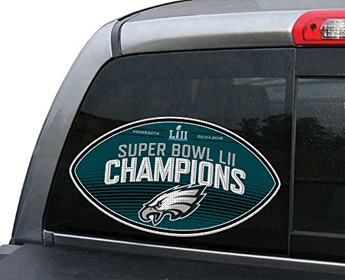 Fremont Die NFL Philadelphia Eagles Super Bowl 52 Champions Large Window Film ()