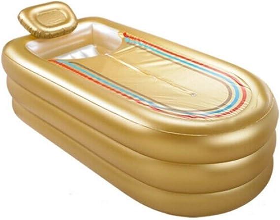 BEANDENG Piscina Inflable for baño Espesar y Aumentar PVC Acostado ...