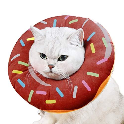 collar isabelino para gatos forma de donut