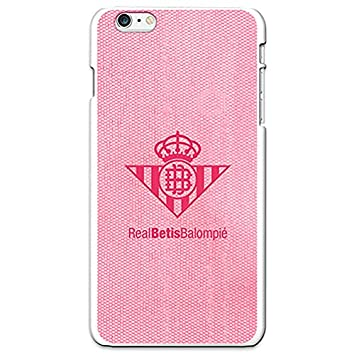 Betis Carcasa Oficial Escudo Rosa iPhone 6 Plus: Amazon.es ...