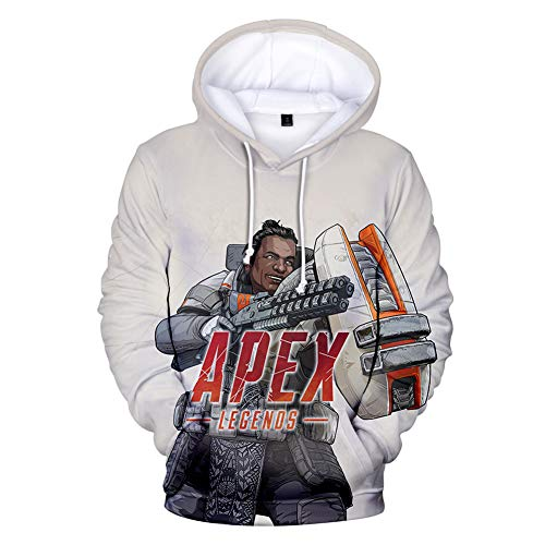 Apex Legends Gibraltar Hoodies Sweatshirt Pullover, used for sale  Delivered anywhere in Canada