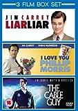 3 Film Box Set: I Love You Phillip Morris / Liar Liar / The Cable Guy [DVD]