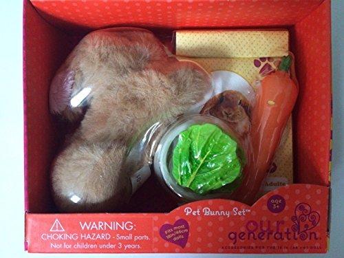 - Our Generation Pet Bunny Set