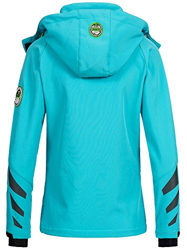 Turchese Geographical Giacca Norway Geographical Norway Donna HXnWgga