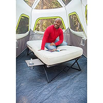 Coleman Airbed Cot with Side Table