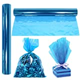 Cellophane Wrap Roll Blue | 100' Ft. Long X