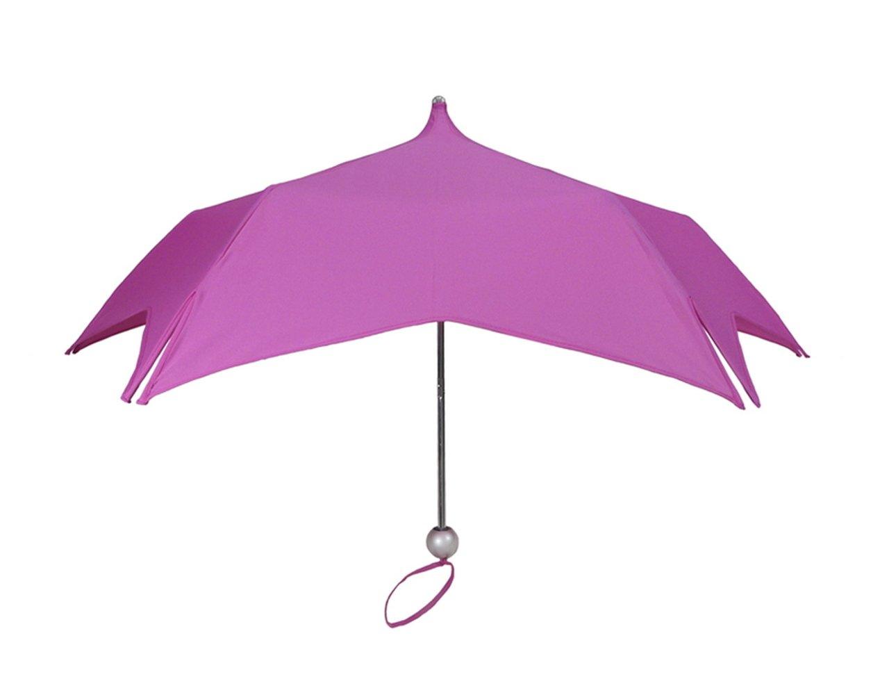 【正規輸入品】 ディチェザレ デザイン マルガリータ スーパーミニ 1 トーン 全3色 折りたたみ傘 手開き 日傘/晴雨兼用 ピンク 12本骨 55cm グラスファイバー骨 テフロン加工 B00T7RFAUW ピンク ピンク