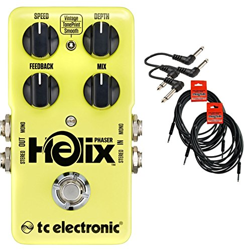 Tc Electronic Helix Phaser Guitar Effects Pedal Bundle 960820001