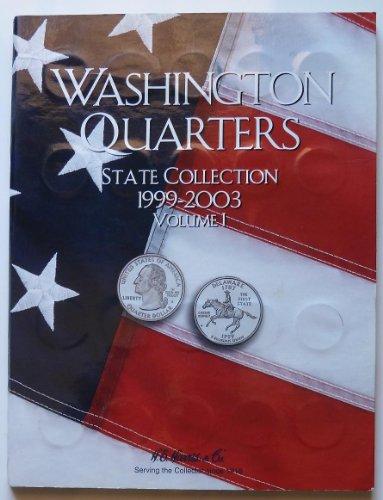 H.E. Harris & Co. - Washington Statehood Quarters - Complete Commemorative Collection - Volume I - 1999-2003 - Commemorative Statehood Quarters