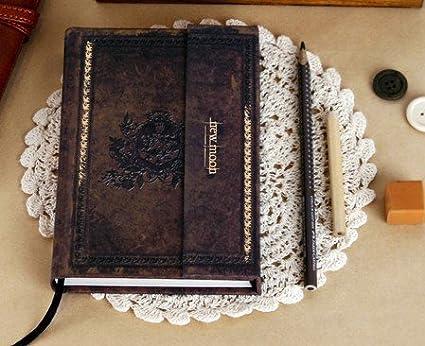Amazon.com: Twilight Notebook Vintage Diary Book Agenda ...